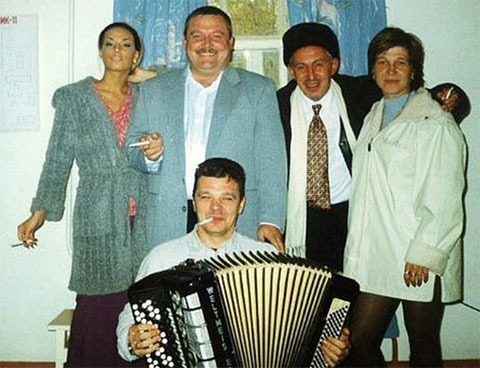 Саша Север и Михаил Круг