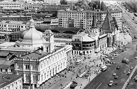 На площади трех вокзалов начинала свою деятельность Сокольническая ОПГ