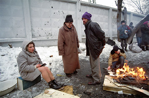 Бездомные в России