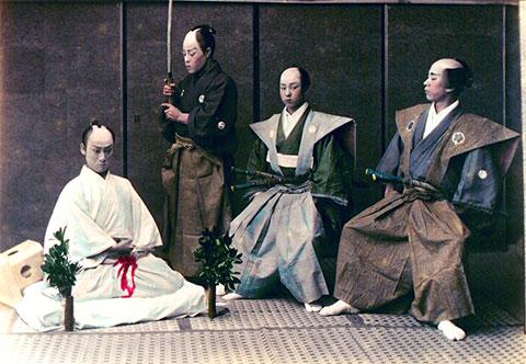 Сеппуку или харакири - свойственное явление среди японских самураев