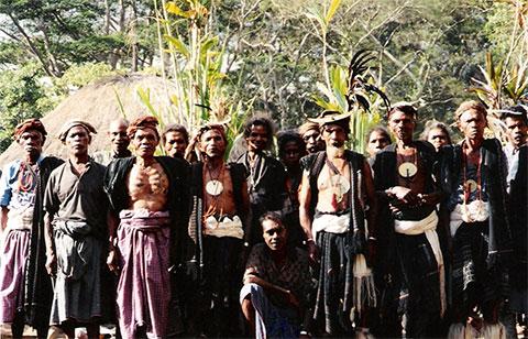 Аборигены Тимора