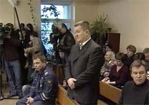 Владимир Бутов в суде