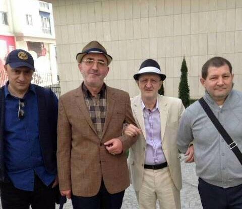 Справа воры в законе: Константин Найбауэр (Костя Канский), Мераб Мзарелуа и Роланд Гегечкори