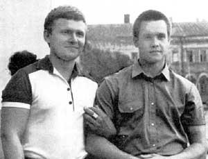 Слева: Хайдер Закиров и Александр Навалов