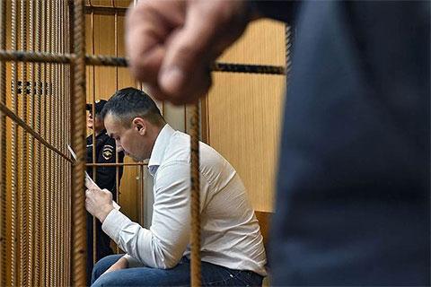 Дмитрий Мануйлов в суде
