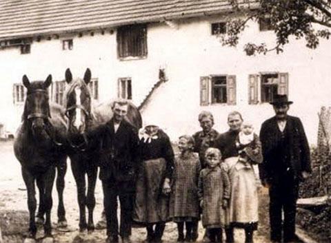 Обитатели фермы Хинтеркайфек