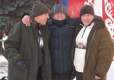 Слева воры в законе: Георгий Сорокин (Жора Ташкентский), Алексей Забавин (Забава) и Игорь Глазнев (Вова Питерский)