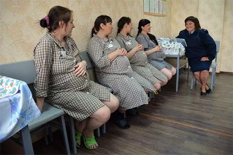 Беременные женщины в тюрьме