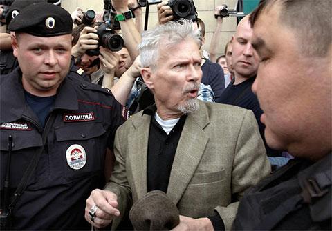 Арест Эдуарда Лимонова