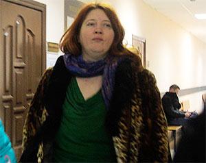 Подруга Елены Шишмаревой, предпринимательница Елена Фахрутдинова