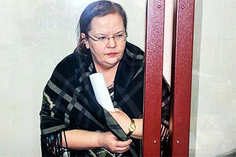 Елена Шишмарева в суде