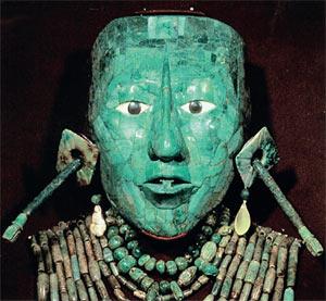 Сыщикам удалось вернуть в музей только уникальную нефритовую погребальную маску