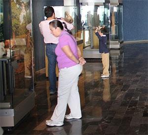 В Национальном музее антропологии в Мехико