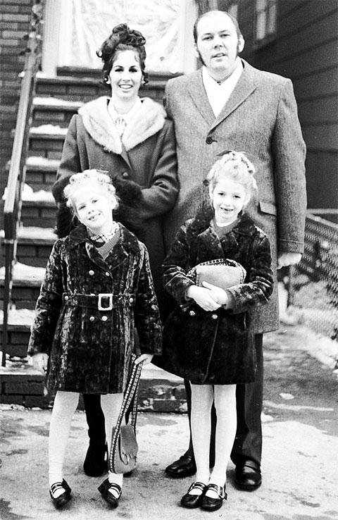 Ричард Куклински с семьей