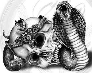 Криминальная традиция - модель змеи и орла