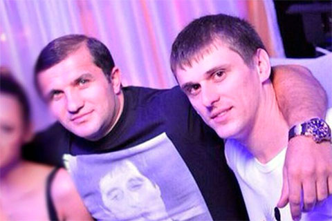 Слева: Алиетдин Махмудов и Александр Геберт
