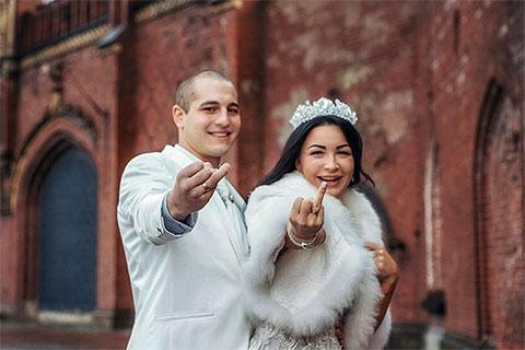 Александр Закамский с женой Елизаветой