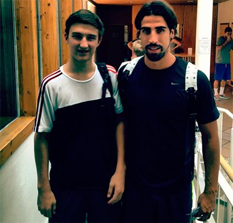 Слева: Алексей Штенгелов