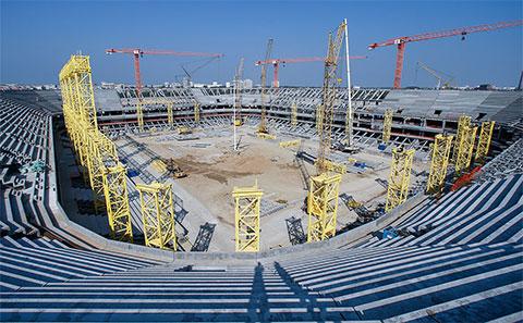 "Строительство стадиона ""Арена Балтика"""