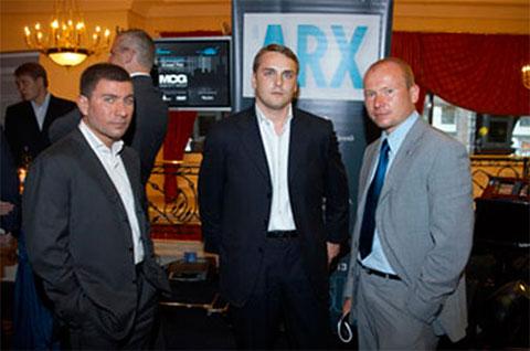 Слева: Аркадий Буравой, Антон Петров