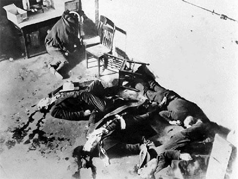 Жертвы бойни в День святого Валентина