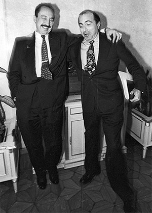 «ЛогоВАЗ». Начало 1990-х. Борис Березовский с Николаем Глушковым