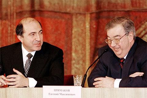 Борис Березовский и Евгений Примаков