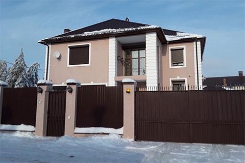 Дом прокурора Воликова возле природного парка «Кумысная поляна»