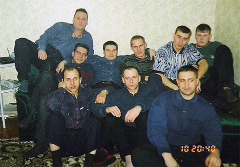 Участники ОПГ  Ифы-Козлова