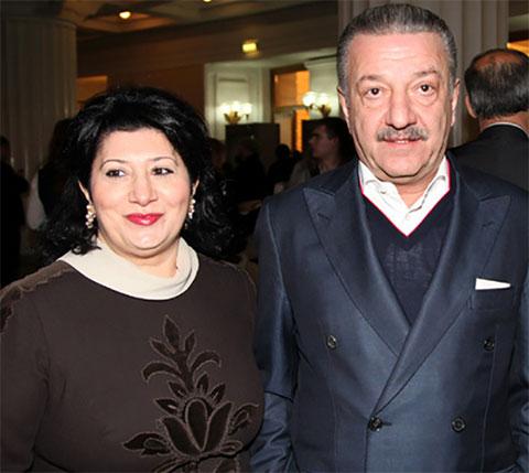Тельман Исмаилов с женой