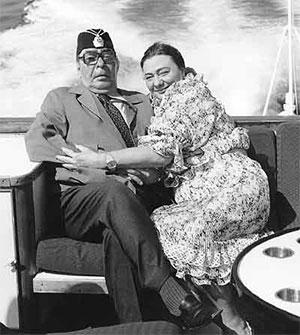 Леонид Брежнев с дочерью Галиной