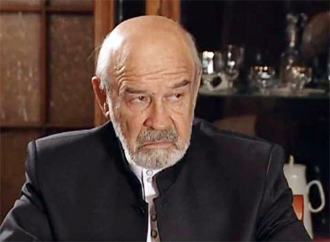 Лев Борисов, в фильме - криминальный авторитет «Антибиотик»