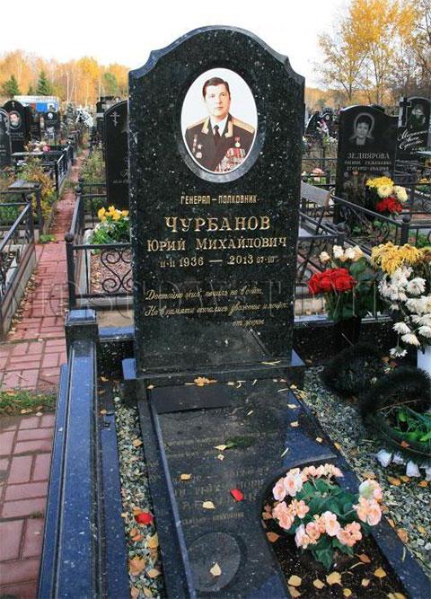 Могила Юрия Чурбанова