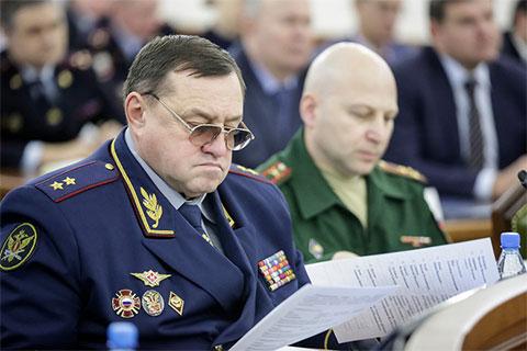 Экс-глава ГУФСИН по Ростовской области генерал-лейтенант внутренней службы Сергей Смирнов