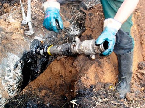 Нелегальные врезки в нефтепровод