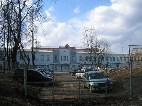 Владимирский централ: фасад, выходящий на Большую Нижегородскую
