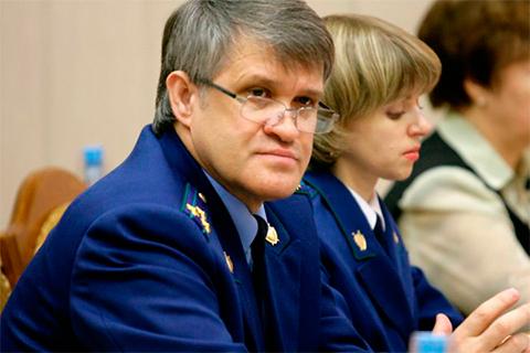 Прокурор Алтайского края Яков Хорошев