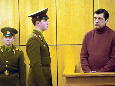 Юрий Чурбанов в суде