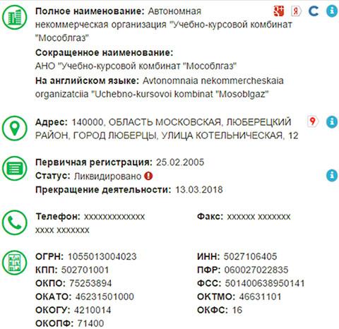 Новые собственники АО «Мособлгаз» ликвидировали владельца подмосковной «газовой империи»