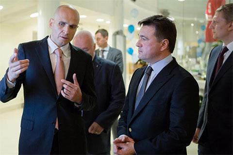 Слева: Дмитрий Голубков и Андрей Воробьев