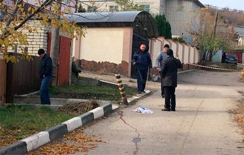 Место убийства Джейхуна Джафарова