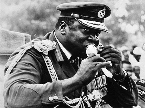 Генерал Иди Амин