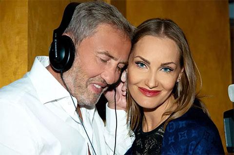 Леонид Черновецкий и его новая жена Елена