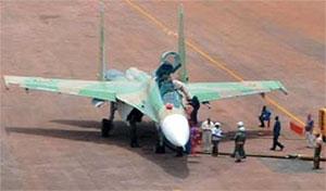 Советский истребитель «МиГ» в Уганде