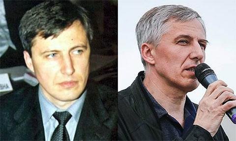 Михаил Дикин до и после заключения