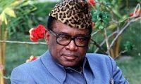 Инициатор конголезской войны Мобуту