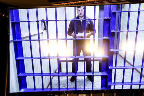 Олег Сорокин в следственном изоляторе