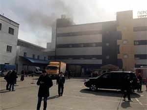 Пожар в торговом центре «Персей для детей»