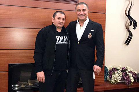Слева: вор в законе Надир Салифов (Гули) и криминальный авторитет Седат Пекер
