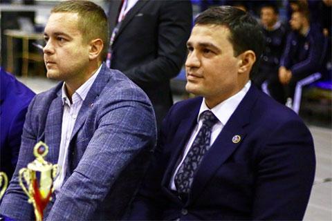 Слева: Сергей Ванкевич и Александр Телепнев